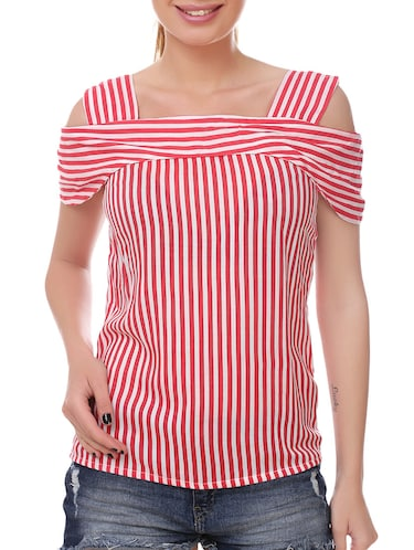 Red striped top - 14907878 - Standard Image - 1
