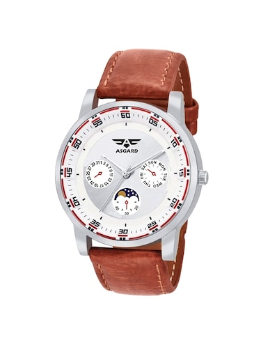 ASGARD White Dial Watch For Men, Boys-159-RL - 14910788 - Standard Image - 1