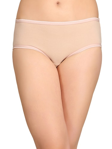 beige cotton hipster panty - 14911335 - Standard Image - 1