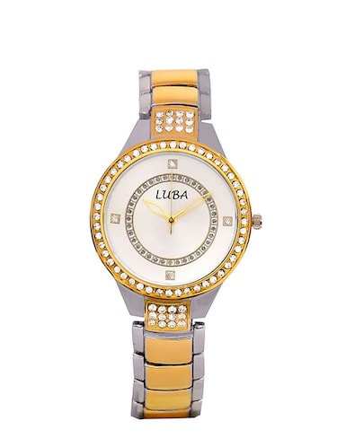 Studded Daimond Analogue Watch For Women - 14913799 - Standard Image - 1