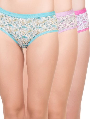 set of 3 multi colored hipster panty - 14915506 - Standard Image - 1