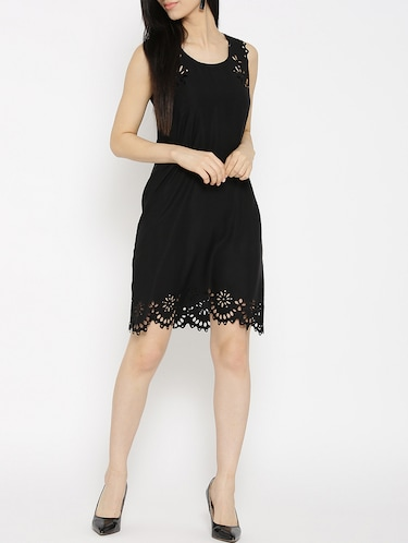 solid black sheath dress - 14915960 - Standard Image - 1