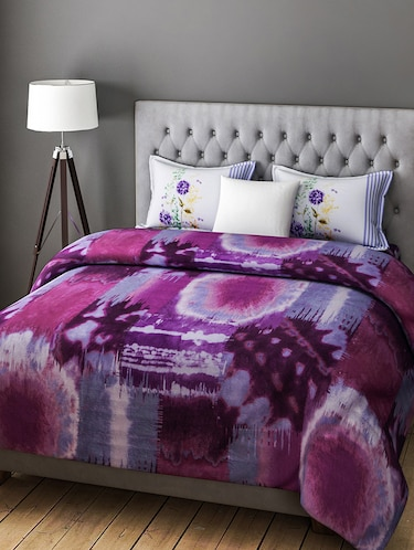 COTTON DOUBLE BEDSHEET WITH 2 PILLOW COVERS - 14916193 - Standard Image - 1