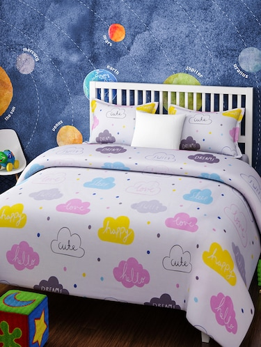KIDS SINGLE BEDSHEET SET - 14916257 - Standard Image - 1