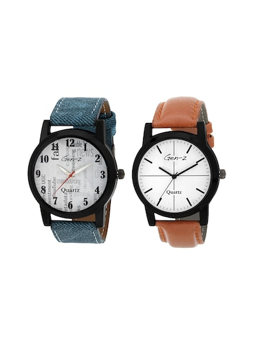GEN-Z Combo of two Social and Minimalist Watches - 14918934 - Standard Image - 1