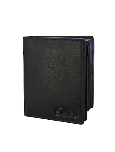 black leather wallet - 14920237 - Standard Image - 1