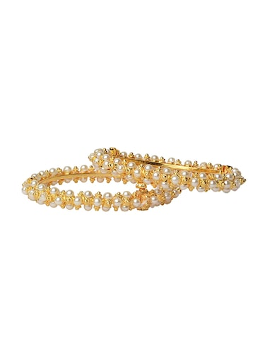 gold brass bangle - 14923502 - Standard Image - 1