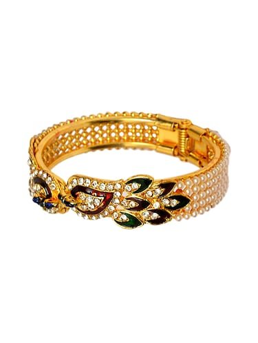 gold brass bangle - 14923518 - Standard Image - 1