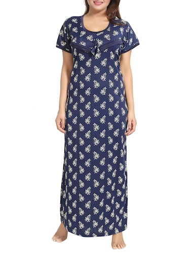 42e93dc3266 Buy Blue Maternity Nightwear Gown by Be You - Online shopping for ...