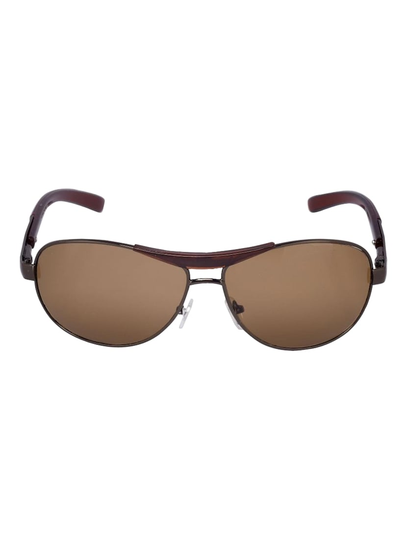 70fa84f6c147 Buy Yaadi Brown Wrap Around Sunglasses for Women from Yaadi for ...