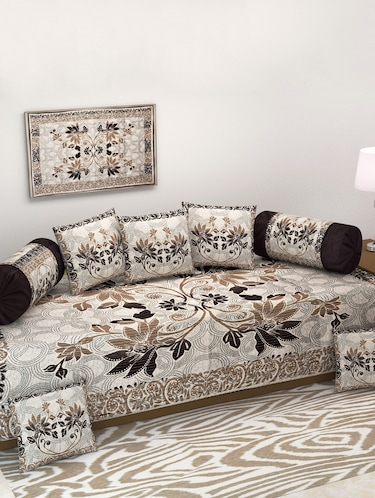 Prime Floral Diwan Set With Sofa Covers And Table Cover Combo Lamtechconsult Wood Chair Design Ideas Lamtechconsultcom