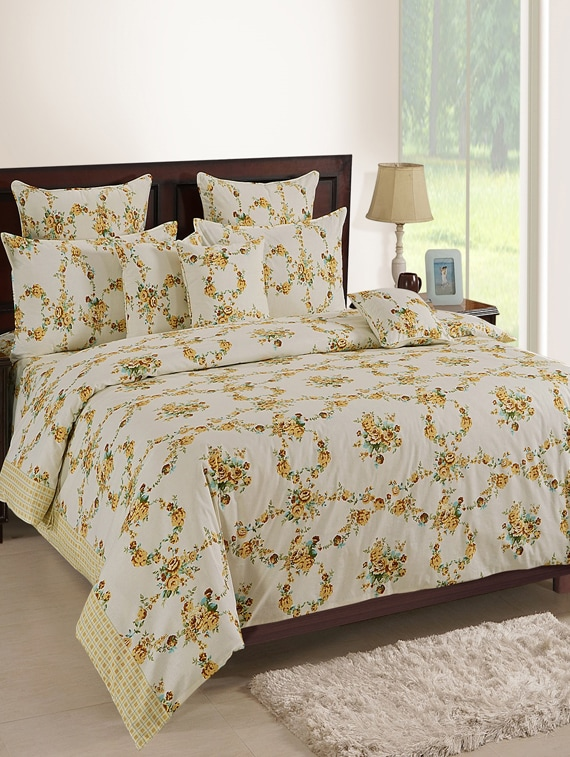45dce9198c ... Cotton Single Bed Sheet with 1 Pillow Cover - 14963879 - Zoom Image - 1
