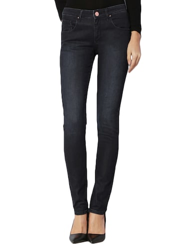 navy blue denim jeans - 15007364 - Standard Image - 1