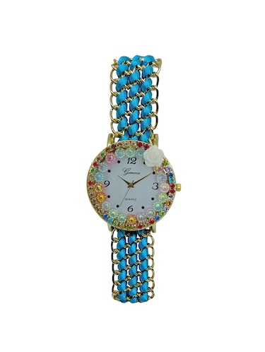 JM New V3 Blue Bracalet Watch - 15007804 - Standard Image - 1