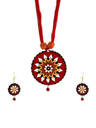 multi none necklaces and earring - 15009813 - Standard Image - 1