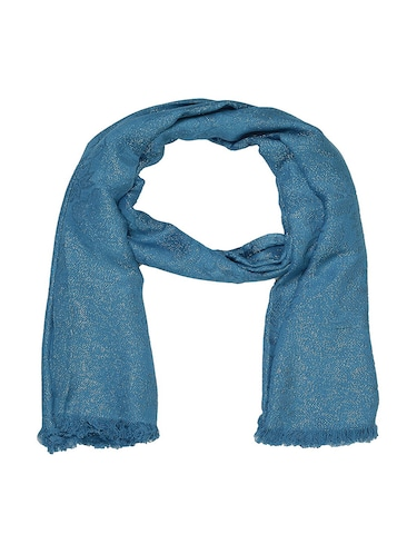 blue cotton scarf - 15010853 - Standard Image - 1