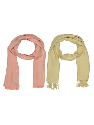 multi cotton scarf - 15010900 - Standard Image - 1