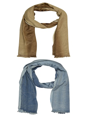 multi cotton scarf - 15010931 - Standard Image - 1