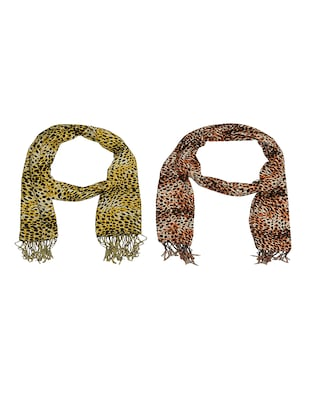 multi cotton scarf - 15010949 - Standard Image - 1