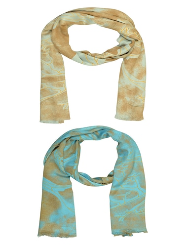 multi cotton scarf - 15010996 - Standard Image - 1