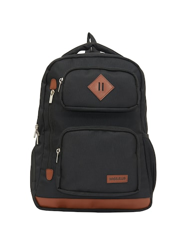 black canvas backpack - 15013361 - Standard Image - 1