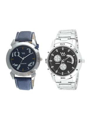 Watch Me Analog Watch Combo for Men and Boys AWC-020-AWC-010 - 15013873 - Standard Image - 1