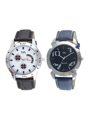 Watch Me Analog Watch  Combo for Men and Boys AWC-020-AWC-013 - 15013876 - Standard Image - 1