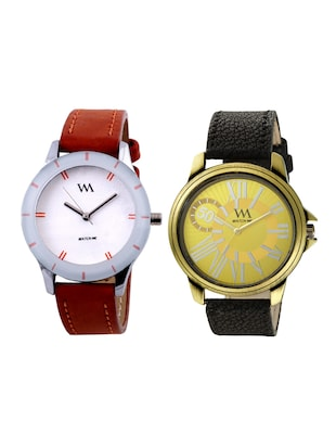 Watch Me Analog Watch Combo for Couple wmal-044-269 - 15013907 - Standard Image - 1