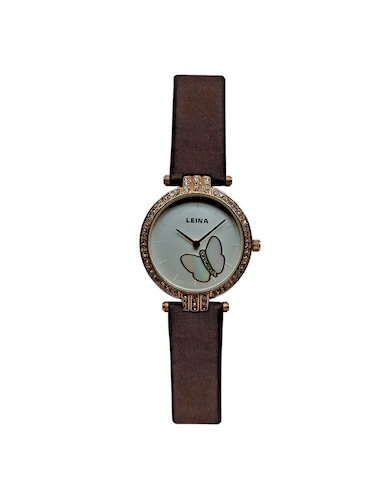 JM New Leina Style L1 Brown Leather Belt Watch - 15013998 - Standard Image - 1