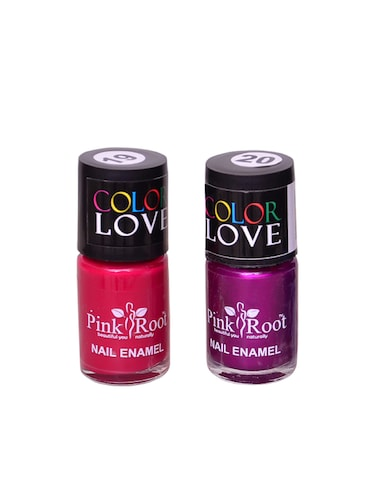 PINK ROOT NAIL PAINTS PACK OF 2 - 15015218 - Standard Image - 1