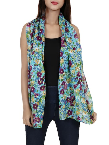 green cotton scarf - 15017172 - Standard Image - 1