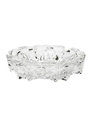 Bar Glass Transparent Ashtray - 15017404 - Standard Image - 1