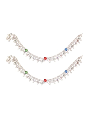 Anklets and payal - 15017482 - Standard Image - 1