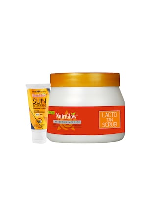 Lacto Tan Scrub (500 g) with Sunscreen Lotion SPF 30 (65 ml) Free - 15018001 - Standard Image - 1