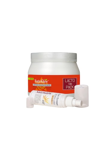 Lacto Tan Fce Pack New (500 g) with Sunscreen Lotion SPF 40 (120 ml) Free - 15018004 - Standard Image - 1