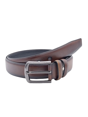 brown leather belt - 15021506 - Standard Image - 1