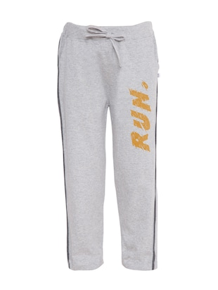 grey cotton track wear - 15024613 - Standard Image - 1