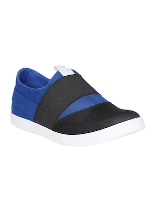 blue Canvas casual slipon - 15025474 - Standard Image - 1