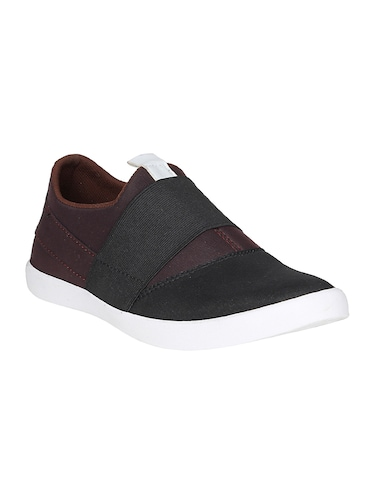 brown Canvas casual slipon - 15025475 - Standard Image - 1