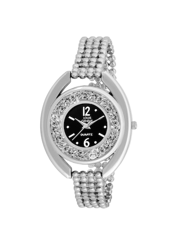 LOUIS GENEVE Black Dial Watch For Women - LG-LW-SBLACK-96 - 15025731 - Standard Image - 1