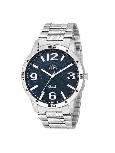 LOUIS GENEVE Blue Dial Watch For Men - LG-MW-SS-DRBLUE-221 - 15025773 - Standard Image - 1