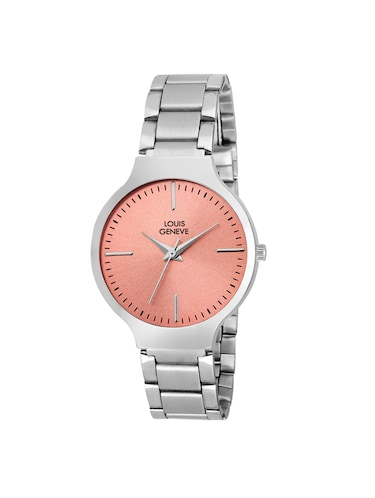 LOUIS GENEVE Red Dial Watch For Women - LG-LW-SS-RED-120 - 15025794 - Standard Image - 1