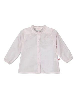 pink cotton  top - 15026355 - Standard Image - 1