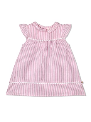 pink cotton frock - 15026467 - Standard Image - 1