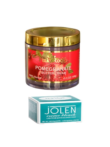 JOLEN Creme Bleach and Pink Root Pomegranate Butter Cream 100gm - 15026534 - Standard Image - 1