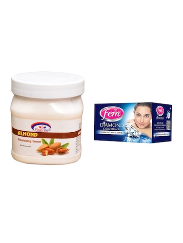 Fem Diamond Bleach, Pink Root Almond Nourishing Cream 500ml - 15026585 - Standard Image - 1