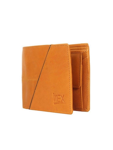 tan & brown leather wallet - 15028646 - Standard Image - 1