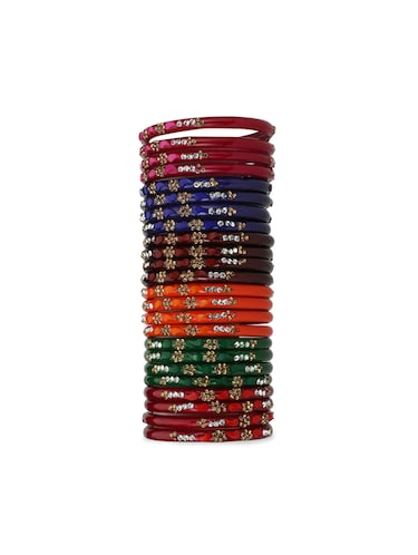 multi glass bangle - 15029123 - Standard Image - 1