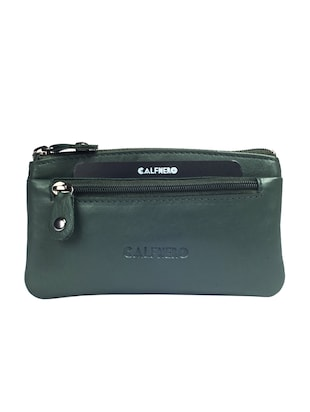 green leather wallet - 15032668 - Standard Image - 1