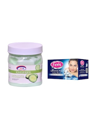 FEM Diamond Crme Bleach and Pink Root Cucumber Cream 500ml - 15033483 - Standard Image - 1
